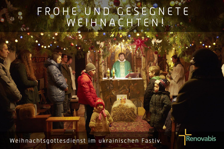 Frohe Und Gesegnete Weihnachten.Frohe Und Gesegnete Weihnachten Renovabis